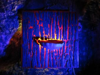 Amadouvier Sacrae Bleu dans Crypte