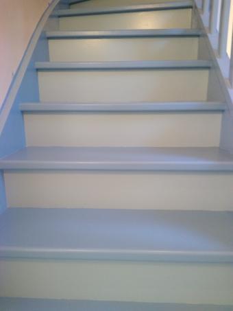 Escalier 23 marches Fini Vue 3