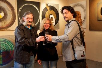 Expo avec Jean François NOBLE et Marie Teissereinc